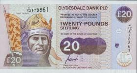 Schottland / Scotland P.221b 20 Pounds 1996 (1)