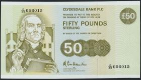Schottland / Scotland P.222 50 Pounds Sterling 1992 (1)