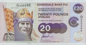 Schottland / Scotland P.227 20 Pounds Sterling 1997 (1)