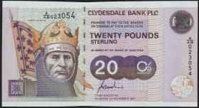 Schottland / Scotland P.228a 20 Pounds 1998 (1)