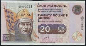 Schottland / Scotland P.228b 20 Pounds 1999 (1)
