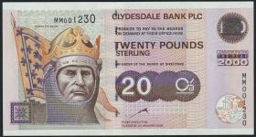 Schottland / Scotland P.229B 20 Pounds 2000 Millennium (1)