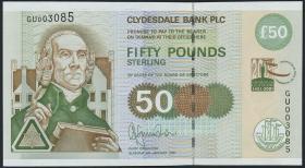 Schottland / Scotland P.229C 50 Pounds 2001 Gedenkbanknote (1)