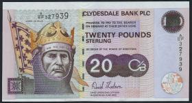 Schottland / Scotland P.229F 20 Pounds 2005 Gedenkbanknote (1)
