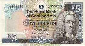 Schottland / Scotland P.347a 5 Pounds 1987 (1)