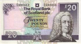Schottland / Scotland Royal Bank P.354e 20 Pounds 2010 (1)