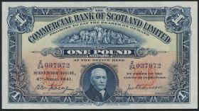Schottland / Scotland P.S331b 1 Pound 1941 (1)