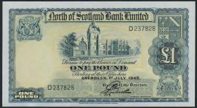Schottland / Scotland P.S644 1 Pound 1945 (1)