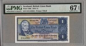 Schottland / Scotland P.169b 1 Pounds 1970 (1)