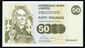 Schottland / Scotland P.209 50 Pounds 1981 (1/1-)