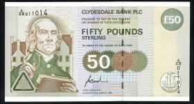 Schottland / Scotland P.225a 50 Pounds 1996 (1)