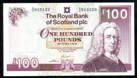 Schottland / Scotland P.350d 100 Pounds 2000 (1)
