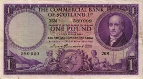 Schottland / Scotland Clydesdale Bank P.S332 1 Pound 1951 (3)
