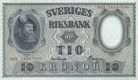 Schweden / Sweden P.40 10 Kronen 1946 - 1952 (1)