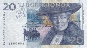Schweden / Sweden P.61a 20 Kronen 1991 (1)