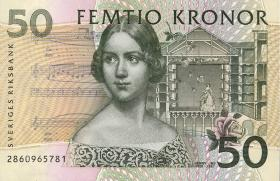 Schweden / Sweden P.62a 50 Kronen 2000 (1)