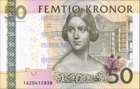 Schweden / Sweden P.64c 50 Kronen 2001 (1)