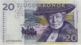 Schweden / Sweden P.61a 20 Kronen 1992 (1)