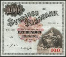 Schweden / Sweden P.48c 100 Kronen 1961 (2)