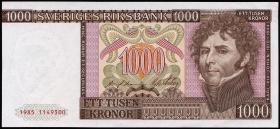 Schweden P.55b 1000 Kronen 1985 (1/1-)