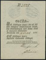 Schweden / Sweden  P.A101 12 Skilling Banco 1849 (2)