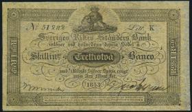 Schweden / Sweden  P.A123c 32 Skilling Banco 1853 (3)
