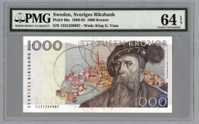Schweden / Sweden P.60 1000 Kronen 1991 (1)