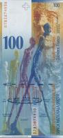 Schweiz / Switzerland P.72h 100 Franken 2007 (1)