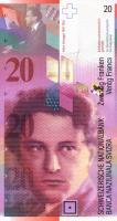 Schweiz / Switzerland P.68a 20 Franken 1994 (1)