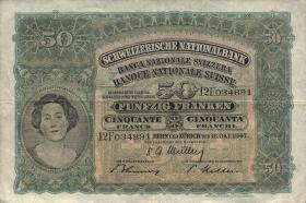 Schweiz / Switzerland P.34o 50 Franken 1947 (3)
