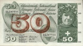 Schweiz / Switzerland P.48m 50 Franken 1973 (1)