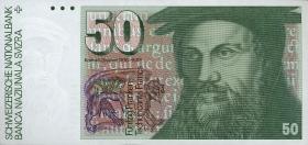 Schweiz / Switzerland P.56a 50 Franken 1978 (1)
