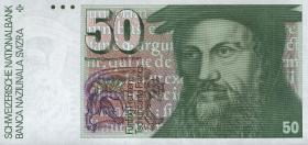 Schweiz / Switzerland P.56h 50 Franken 1988 (1)