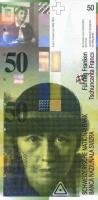 Schweiz / Switzerland P.70 50 Franken 1994 (1)