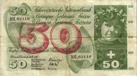 Schweiz / Switzerland P.48b 50 Franken 1961 (3)