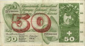 Schweiz / Switzerland P.48f 50 Franken 1965 (3)