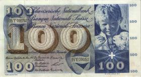Schweiz / Switzerland P.49e 100 Franken 1963 (3+)