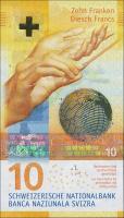 Schweiz / Switzerland P.75 10 Franken 2016 (1)