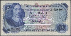 Südafrika / South Africa P.117b 2 Rand (1974-75) (1)