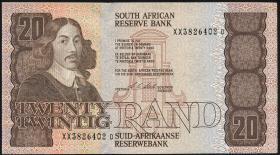 Südafrika / South Africa P.121e 20 Rand (1990-93) (1)
