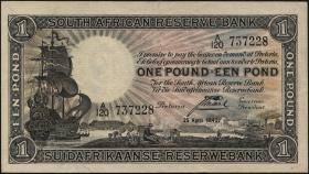Südafrika / South Africa P.084e 1 Pound 1942 (2)