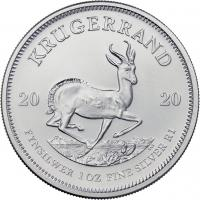 Südafrika Silber-Unze 2020 Krügerrand