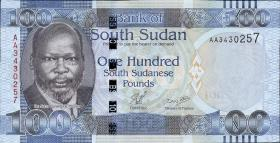 Süd Sudan / South Sudan P.10 100 Pounds 2011 (1)