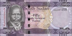 Süd Sudan / South Sudan P.09 50 Pounds 2011