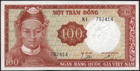 Südvietnam / Viet Nam South P.019a 100 Dong (1966) (1)