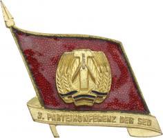 SED Parteitagsabzeichen (3. Parteikonferenz)