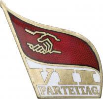 SED Parteitagsabzeichen 7. Parteitag