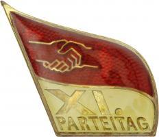 SED Parteitagsabzeichen 11. Parteitag