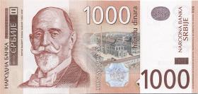 Serbien / Serbia P.44b 1000 Dinara 2003 (1)
