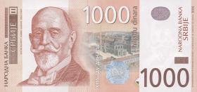 Serbien / Serbia P.52a 1000 Dinara 2006 (1)